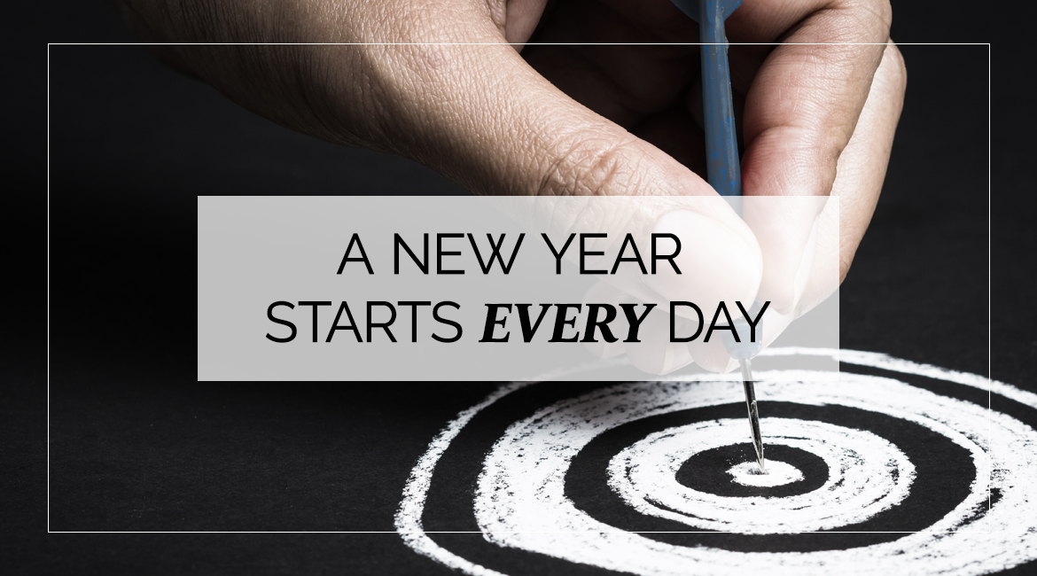 A New Year Starts Every Day
