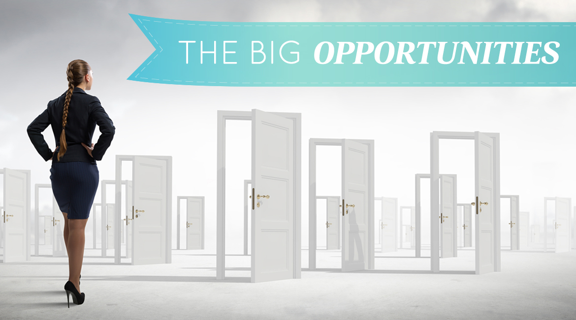 The Big Opportunities