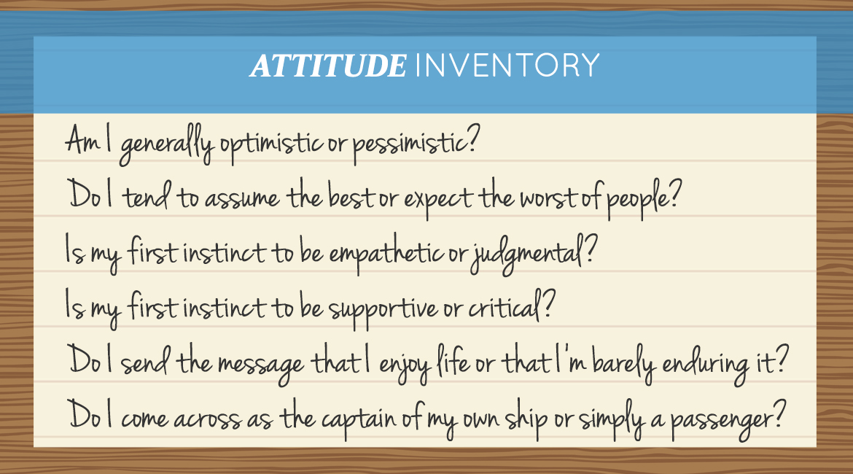 Attitude Inventory