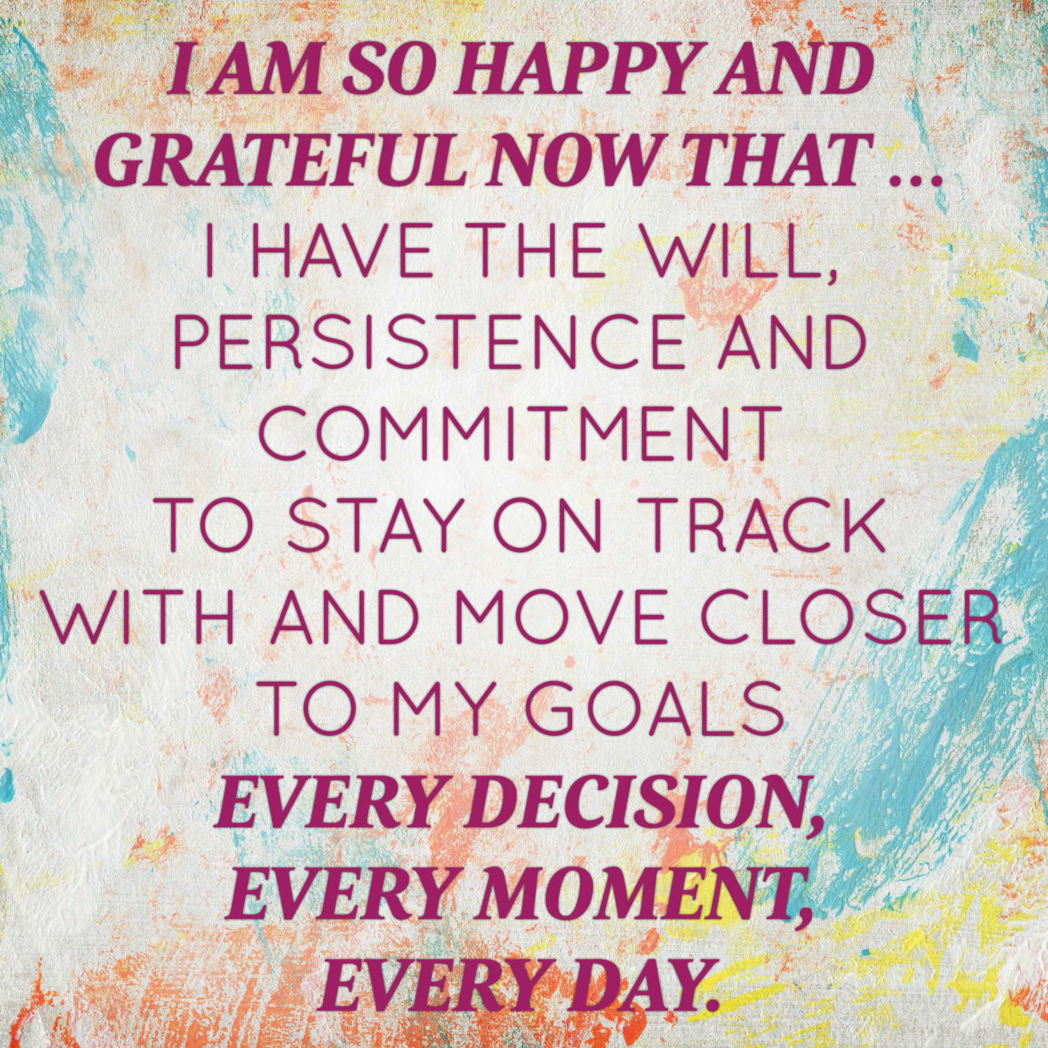 February 2014 Affirmation Of The Month