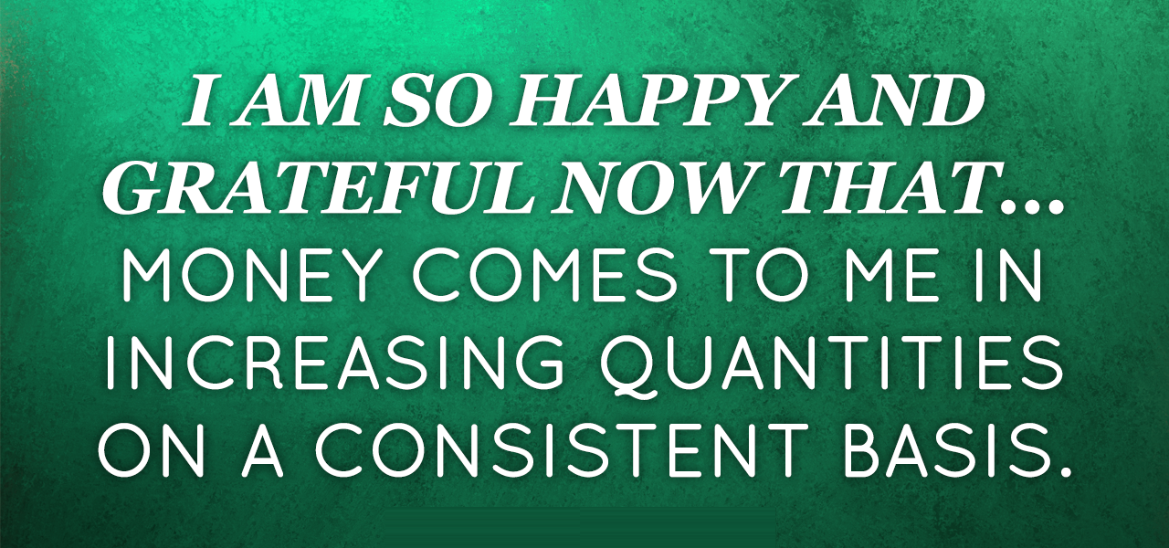 August 2014 Affirmation Of The Month
