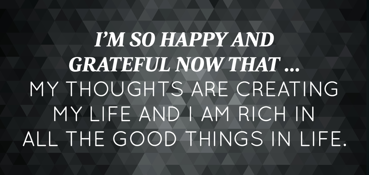 October 2014 Affirmation Of The Month