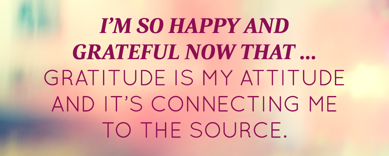 November 2014 Affirmation Of The Month