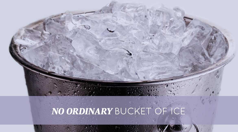 No Ordinary Bucket Of Ice