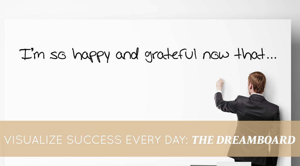 Visualize Success Every Day The Dreamboard