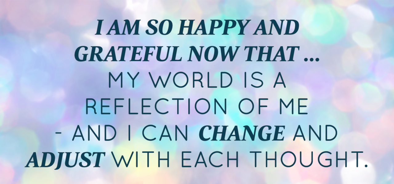 March 2015 Affirmation Of The Month