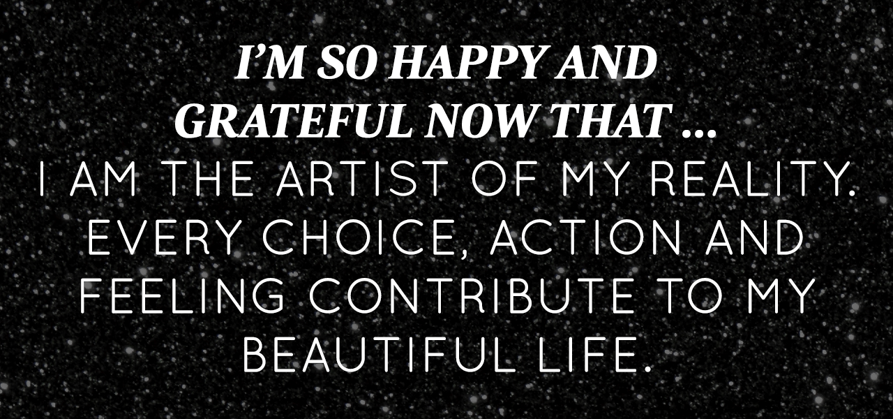 April 2015 Affirmation Of The Month