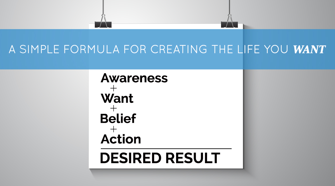 A Simple Formula For Creating The Life You Want