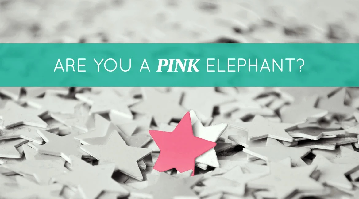 Are You A Pink Elephant