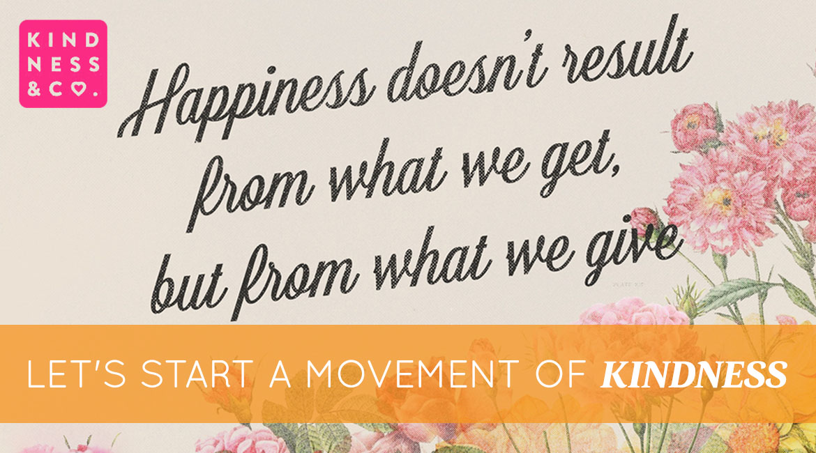 Lets Start A Movement Of Kindness
