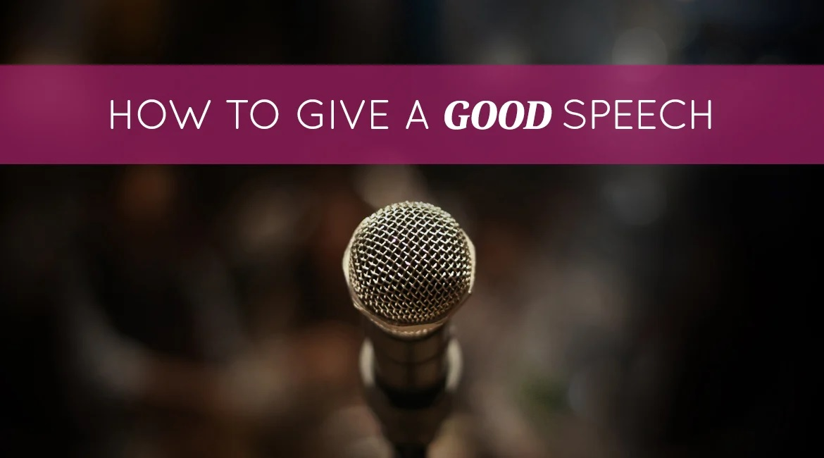 6 Steps On How To Give A Good Speech