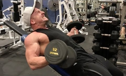 Bicep Finisher for more SIZE!