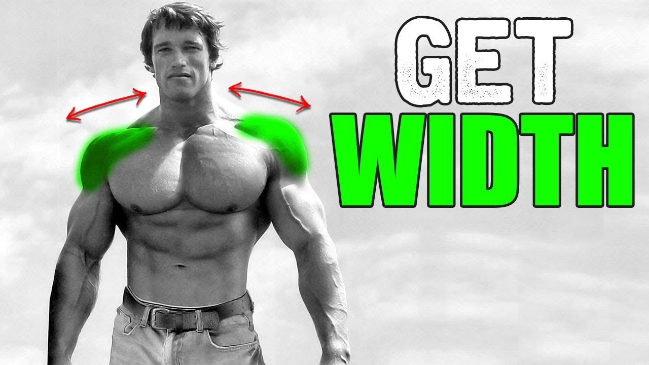 3 Best Exercises for WIDE SHOULDERS!