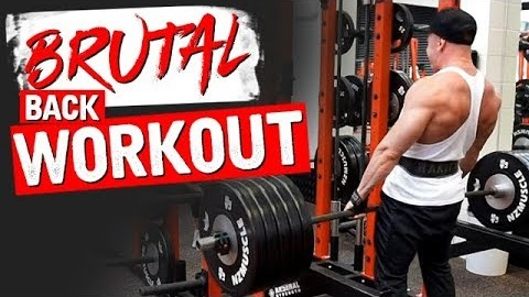 BACK WORKOUT WITH GRANT!