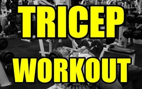 TRICEP WORKOUT!