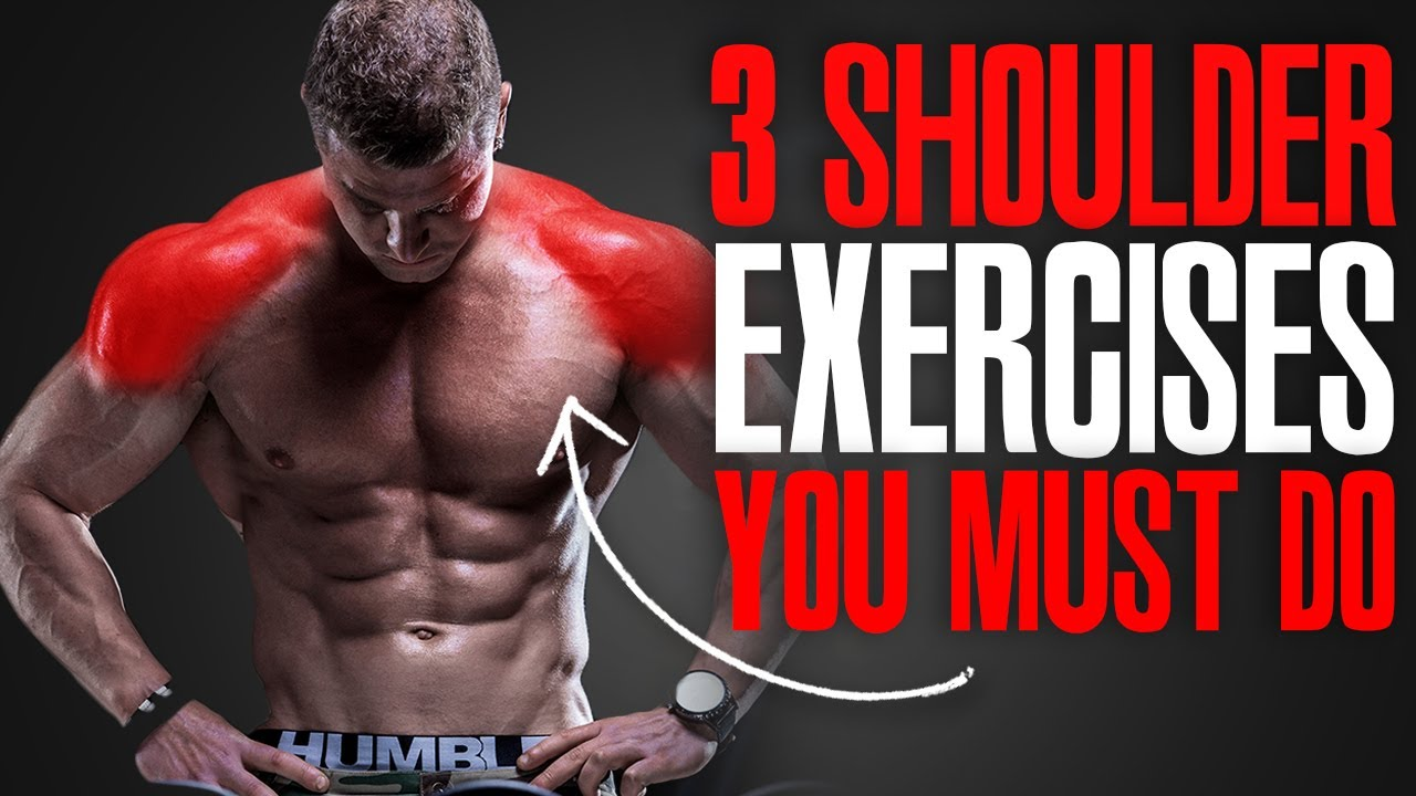 MUST DO EXERCISES! (SHOULDERS!)