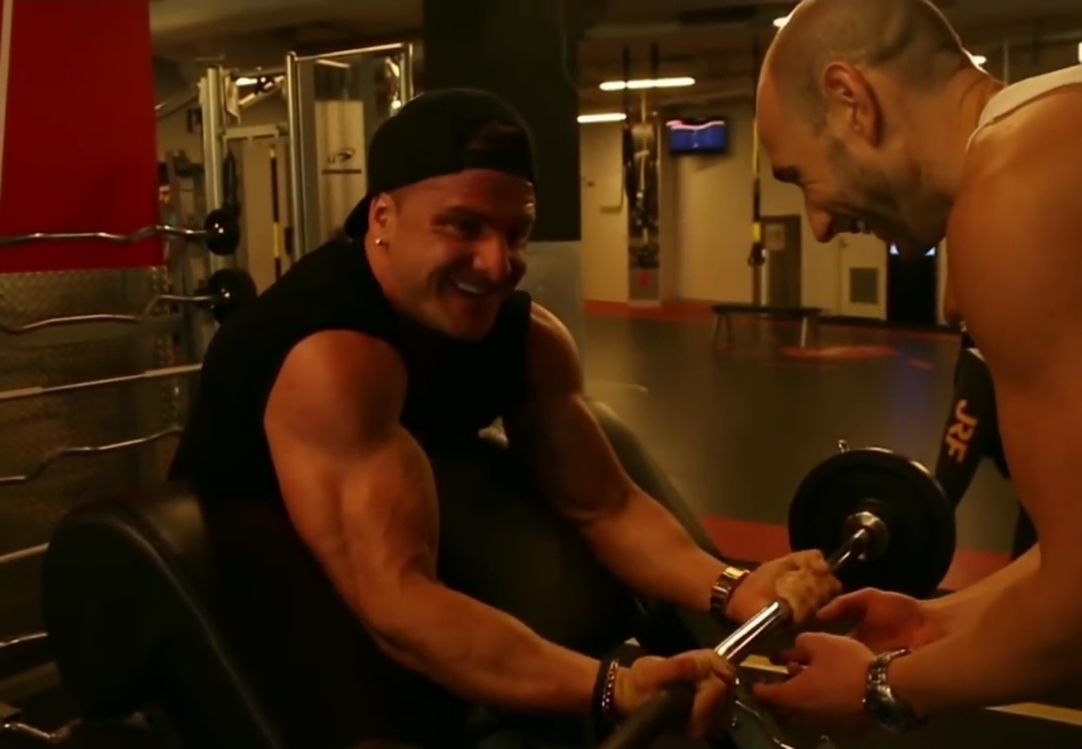 Arm Workout with $10k Transformation Challenge Winner!
