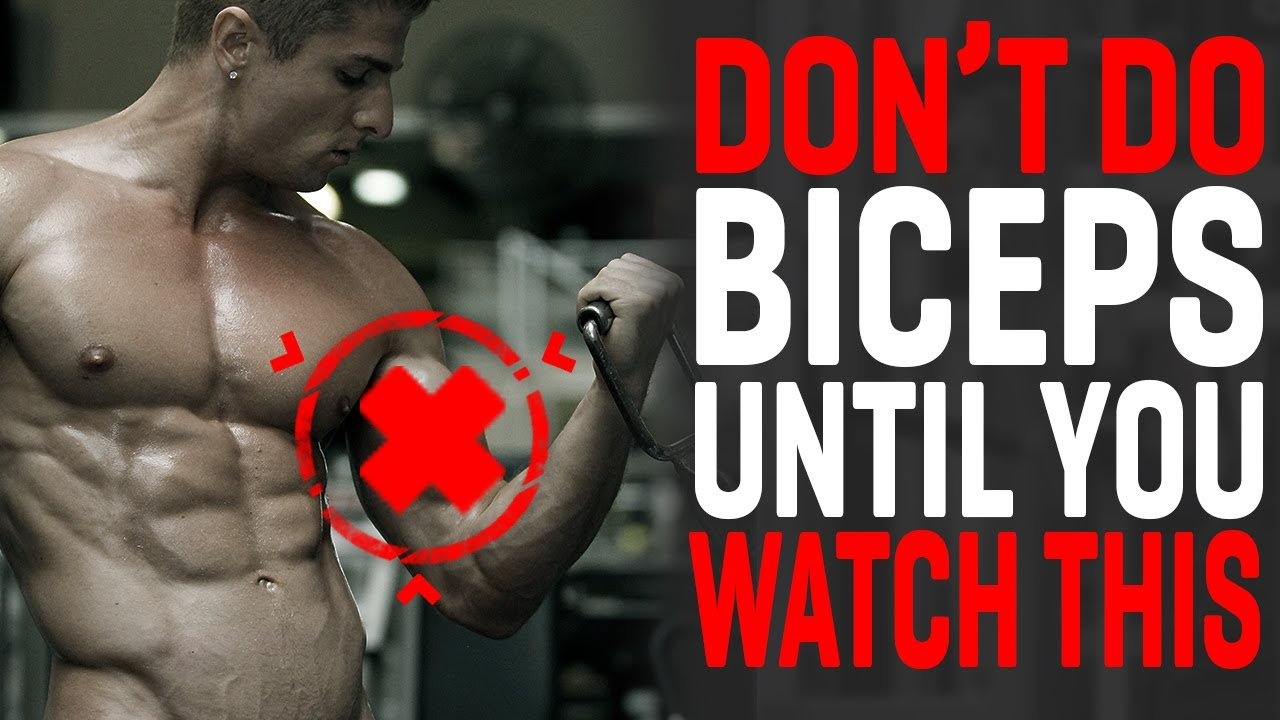 Watch this BEFORE you train biceps again!