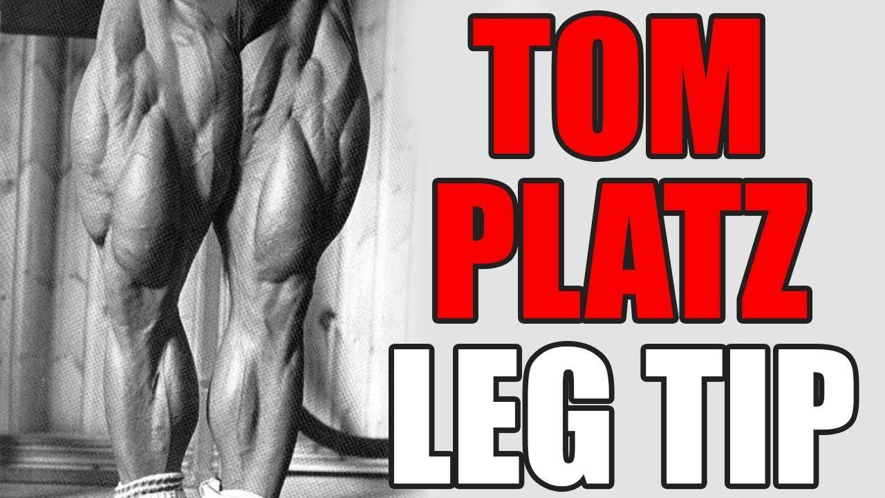 UNIQUE Leg Technique I learnt from TOM PLATZ!