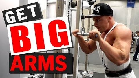 The Secret to Big Triceps! (2 GROWTH TECHNIQUES!)