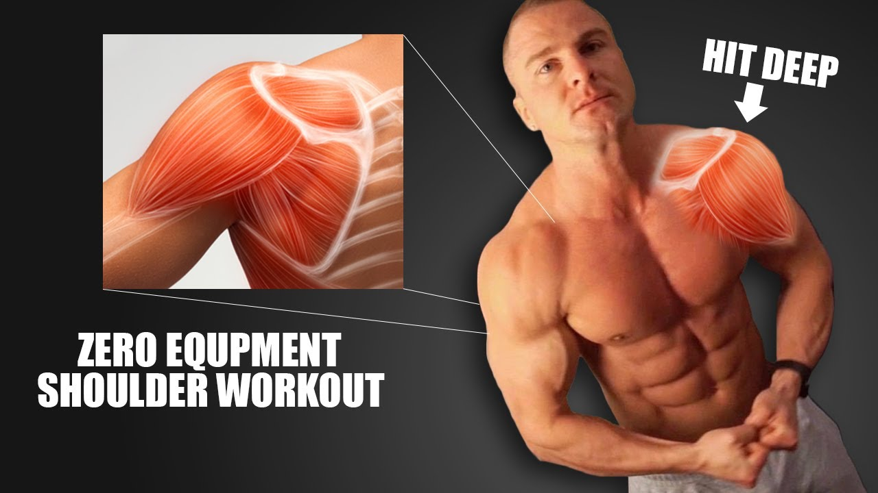 Home Shoulder Workout (NO EQUIPMENT)