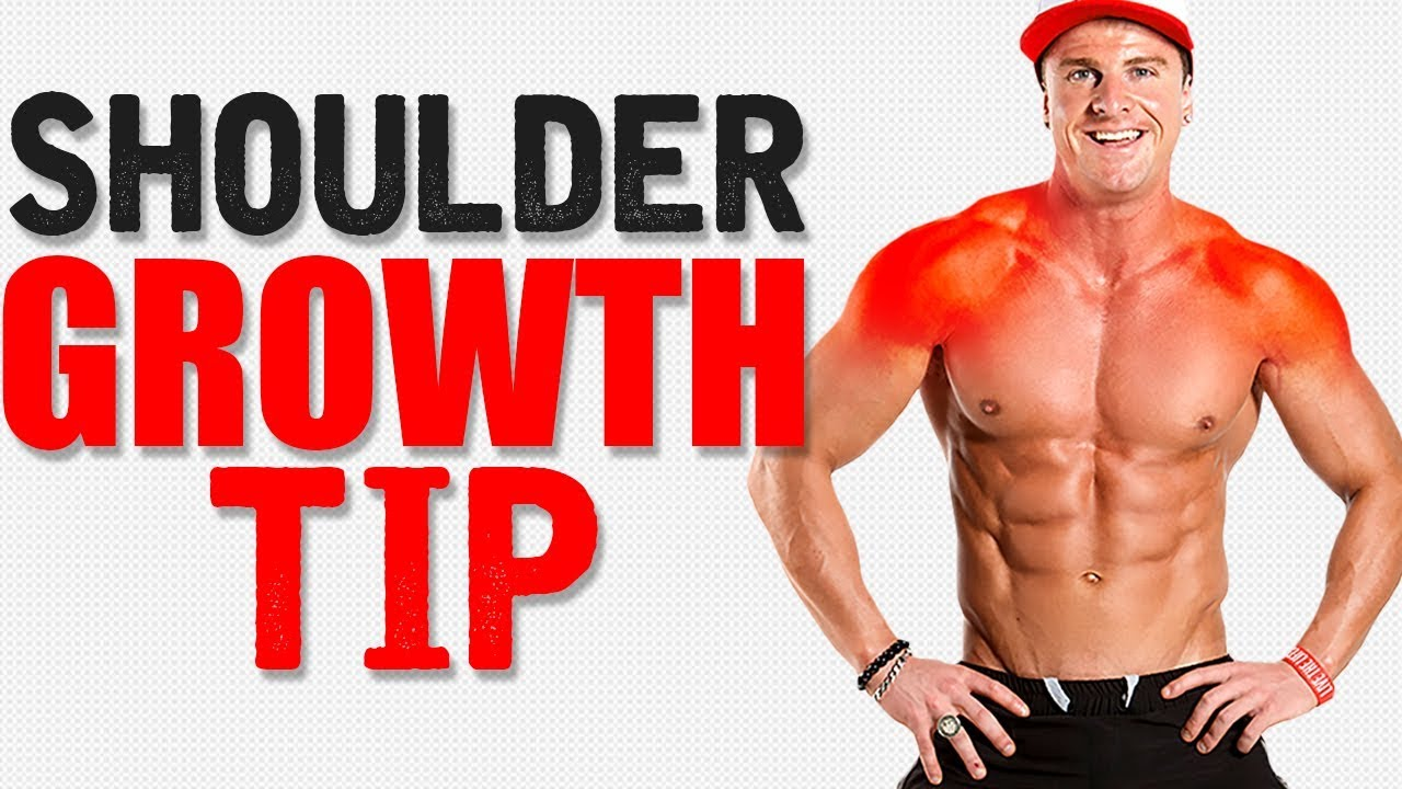 Increase SHOULDER SIZE with this Technique!