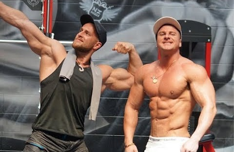 CHEST WORKOUT WITH FRANK THE TANK!