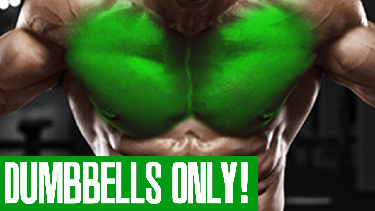 CHEST WORKOUT! (DUMBBELLS ONLY!)