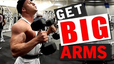 The Secret To Big Biceps! (2 GROWTH TECHNIQUES!)