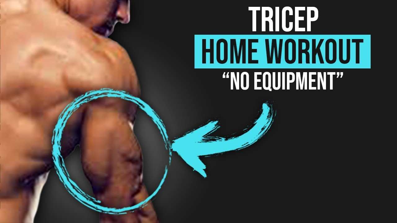 Home Tricep Workout (NO EQUIPMENT)