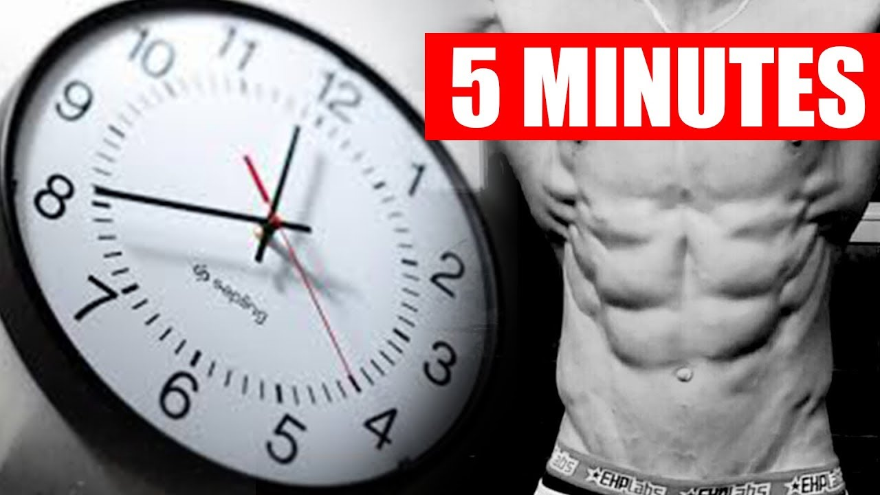 QUICK AB WORKOUT! (ONLY 5 MINUTES!)