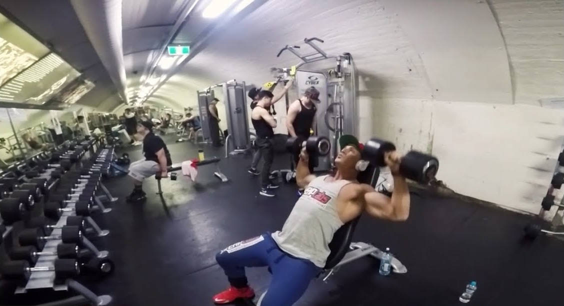 Chest Workout at Doherty's Gym