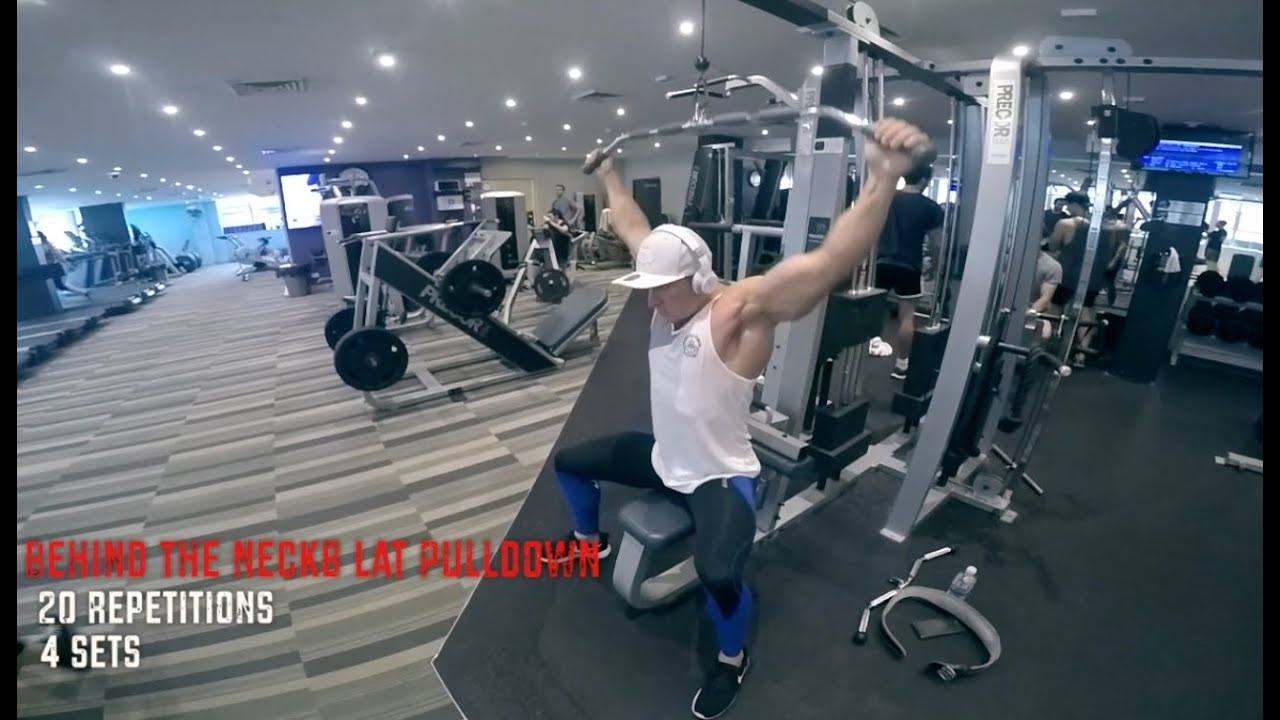 Back & Abs Workout to COPY!