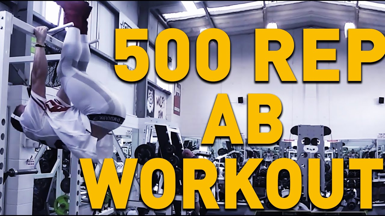 500 REP AB WORKOUT!