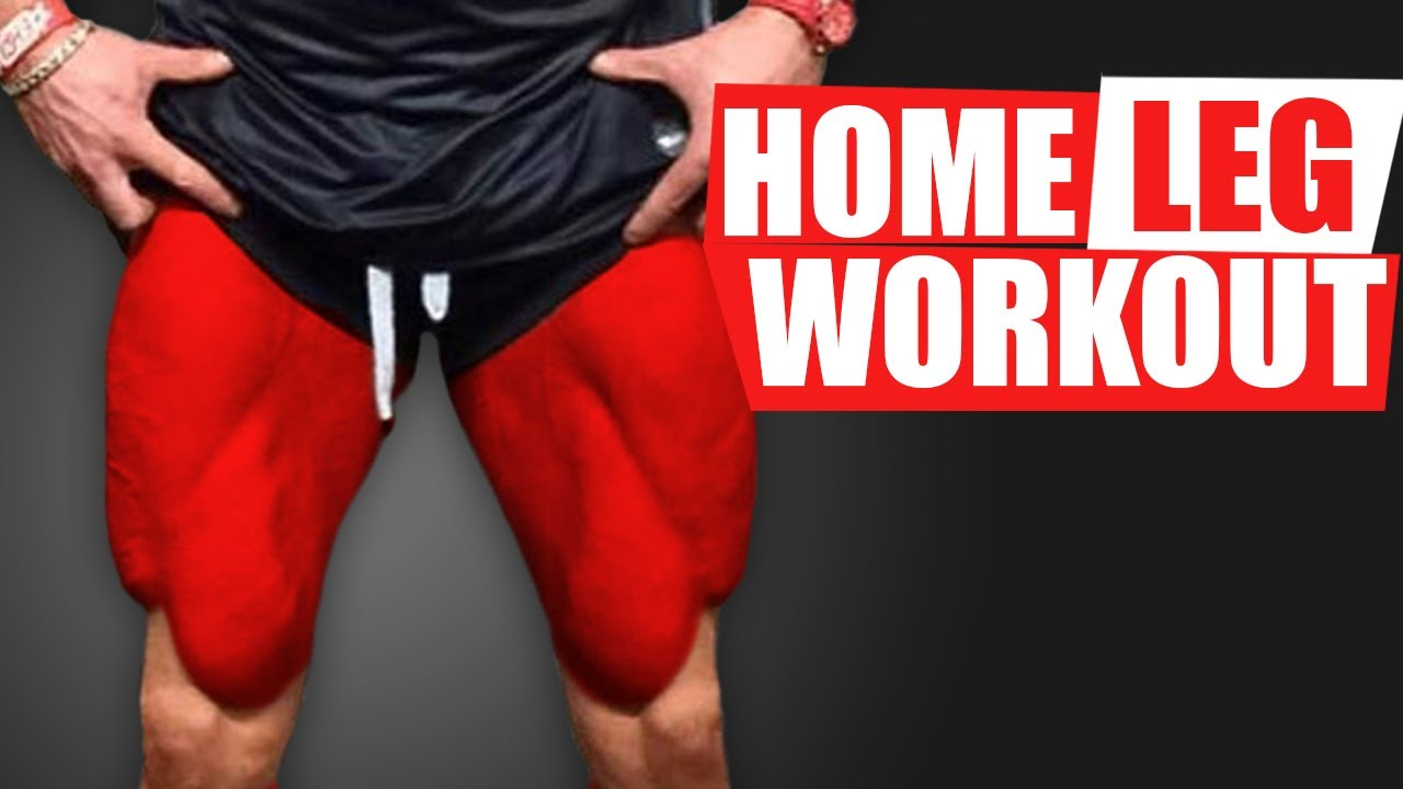 HOME LEG WORKOUT! (GROWTH TIPS!)