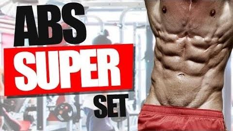 Super-Set Ab Workout!