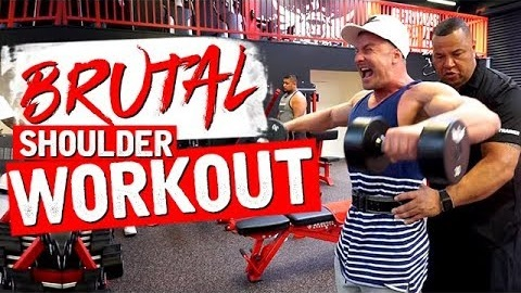 SHOULDER WORKOUT WITH GRANT!