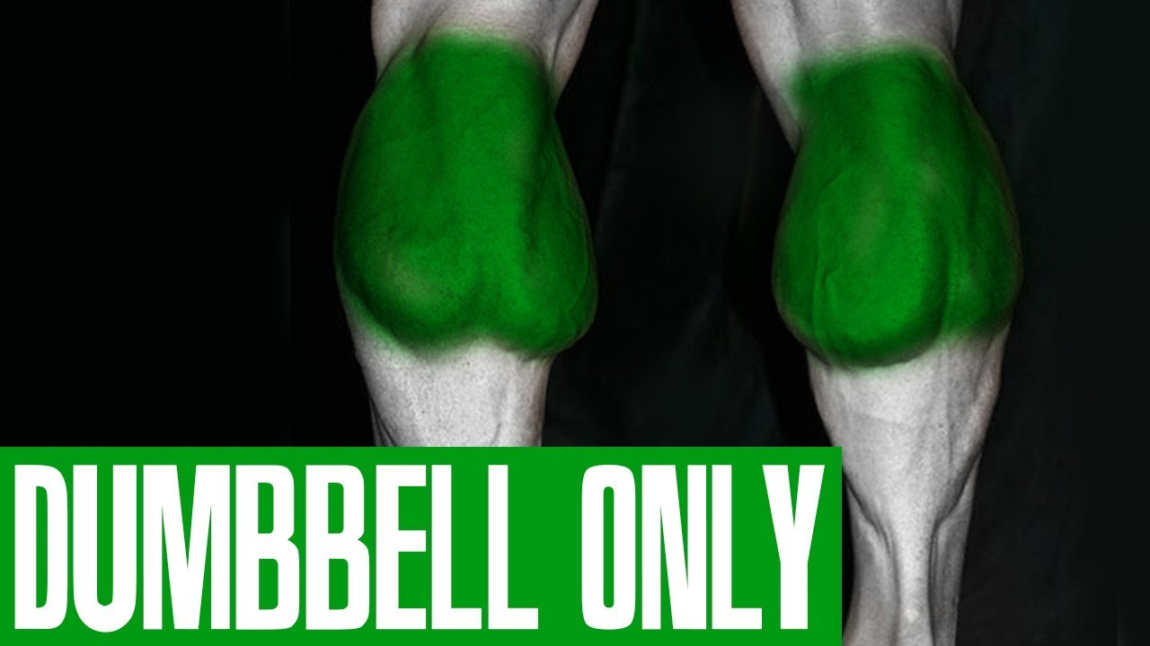 CALF WORKOUT! (DUMBBELLS ONLY!)