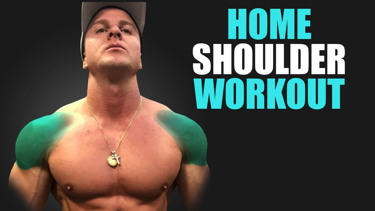 HOME SHOULDERS WORKOUT! (GROWTH TIPS!)