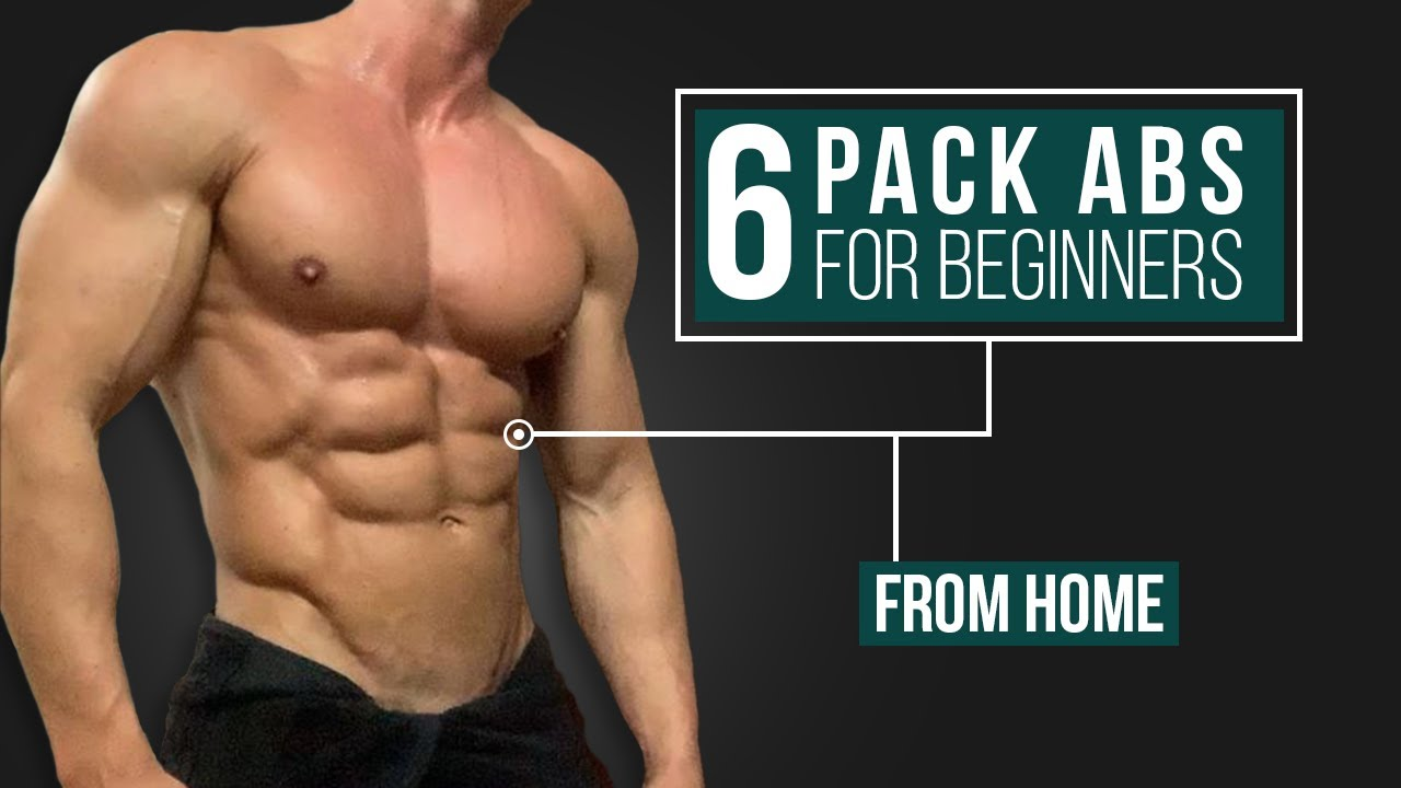 6 PACK ABS For Beginners (No Equipment & Do Anywhere)