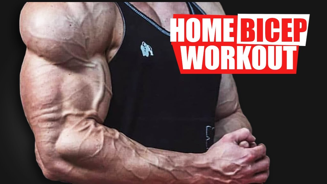 HOME BICEPS WORKOUT! (GROWTH TIPS!)