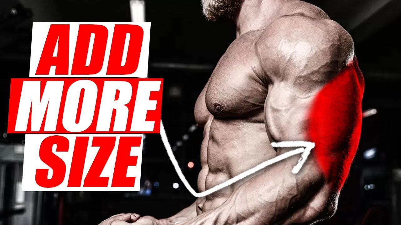 3 TECHNIQUES TO GROW YOUR TRICEPS!