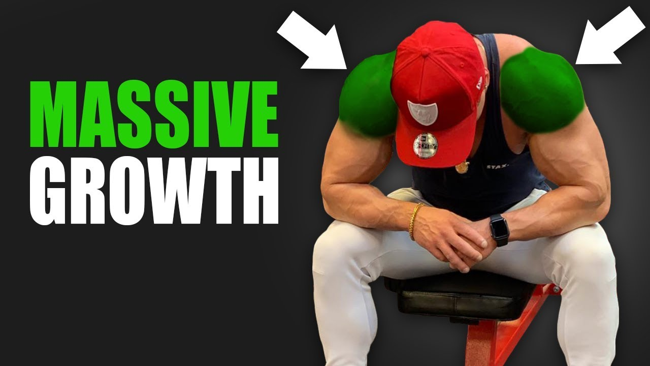The BEST Techniques for SHOULDER GROWTH!