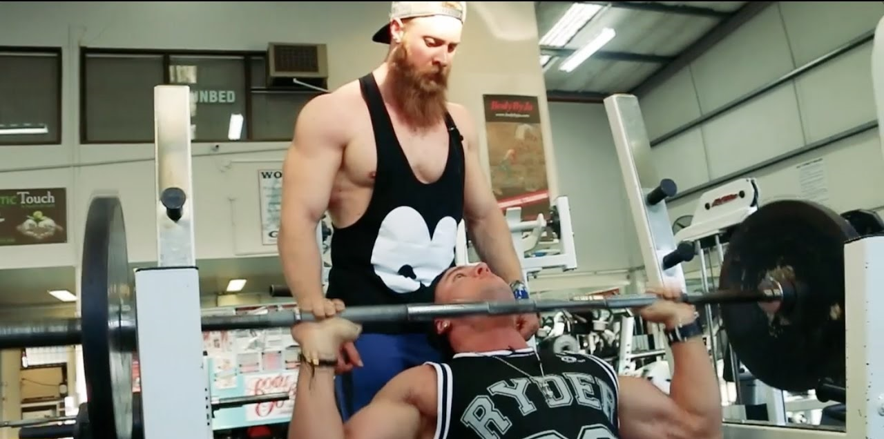 Training Shoulders/Triceps with Brett Harman