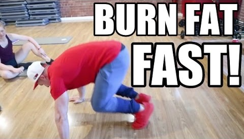 FASTEST WAY TO BURN FAT! (HIIT & ABS WORKOUT)