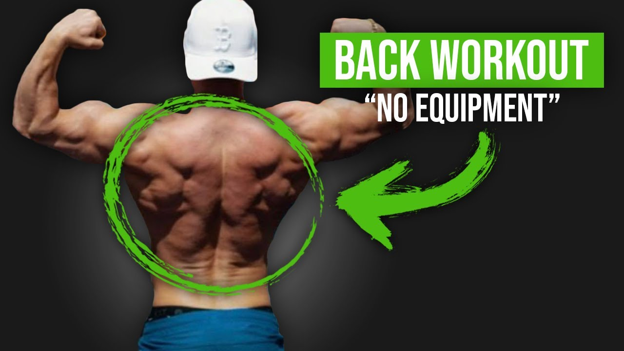 Home Back Workout (NO EQUIPMENT)
