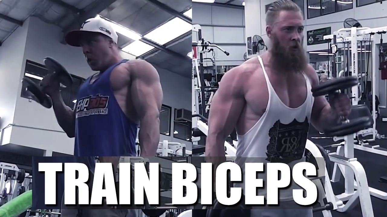 Bicep Workout with Brett