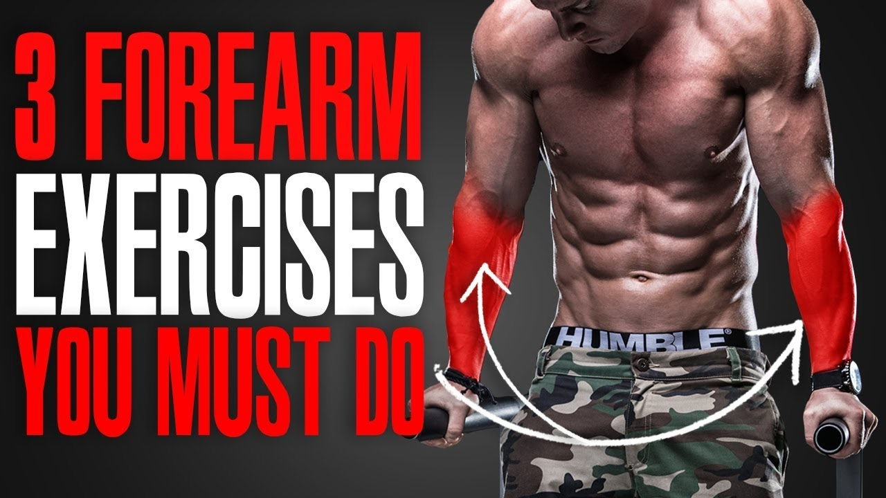 MUST DO EXERCISES! (FOREARMS!)