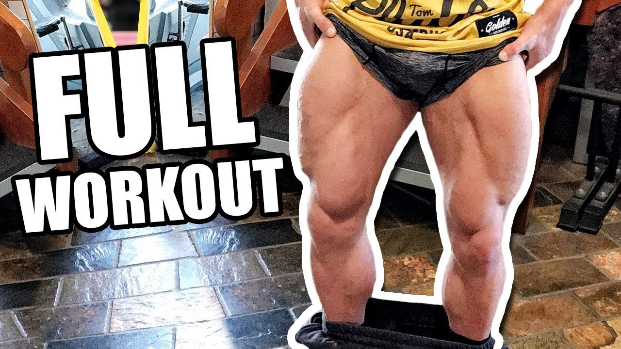 LEG GAINS With This Workout! (MORE GROWTH!)