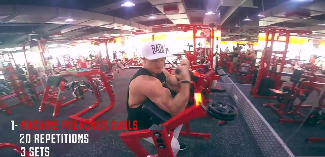 Biceps Triceps & Abs in INDIA!